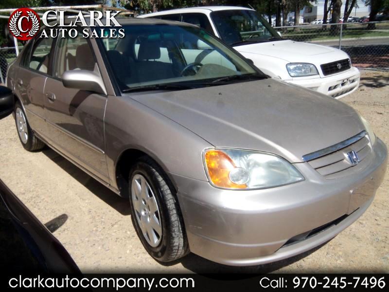 2002 Honda Civic 4dr Sdn EX Auto w/Side Airbags