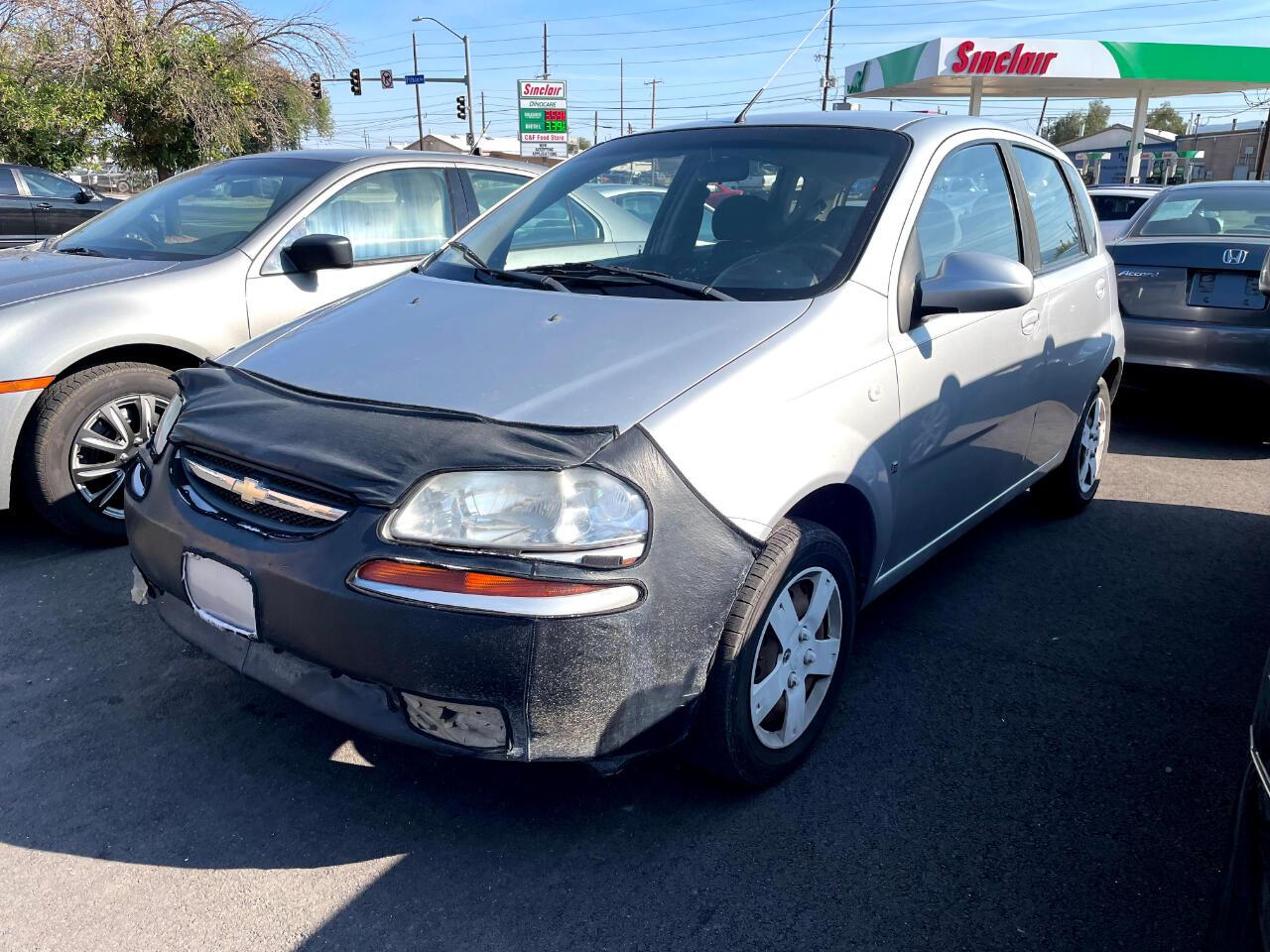 Chevrolet Aveo 5dr HB SVM 2008