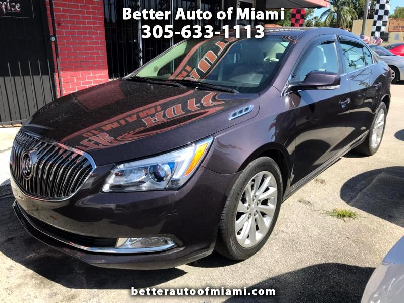 Buick LaCrosse Leather Package 2015