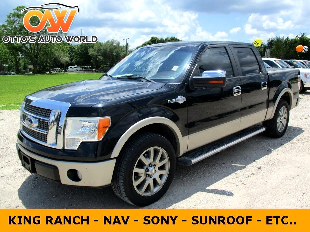 "2010 Ford F-150 2WD SuperCrew 150"" King Ranch"
