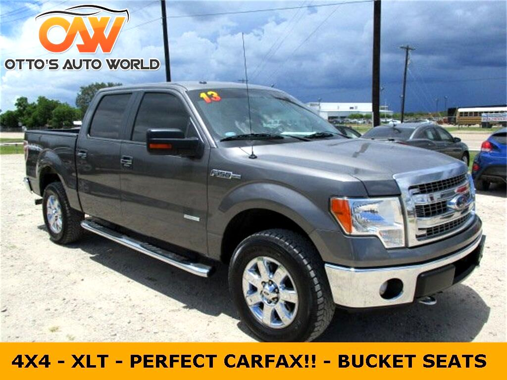 "2013 Ford F-150 4WD SuperCrew 150"" XLT"