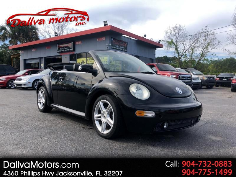 2004 Volkswagen New Beetle GLS 1.8L Convertible