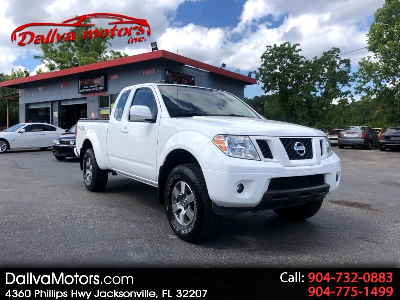 2010 Nissan Frontier 4WD King Cab Manual PRO-4X