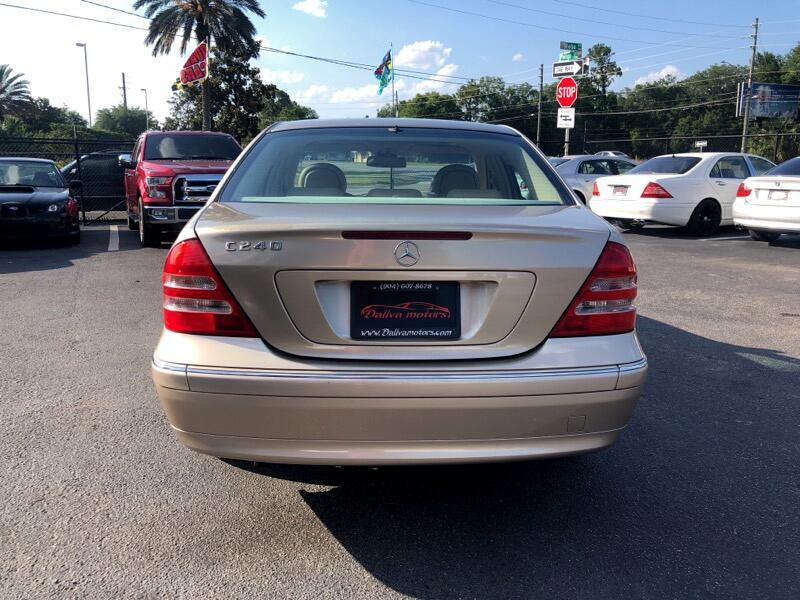 Mercedes-Benz C-Class C240 Sedan 2002