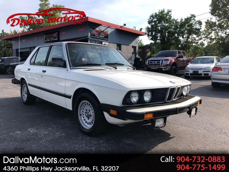 BMW 5-Series 528E automatic 1984