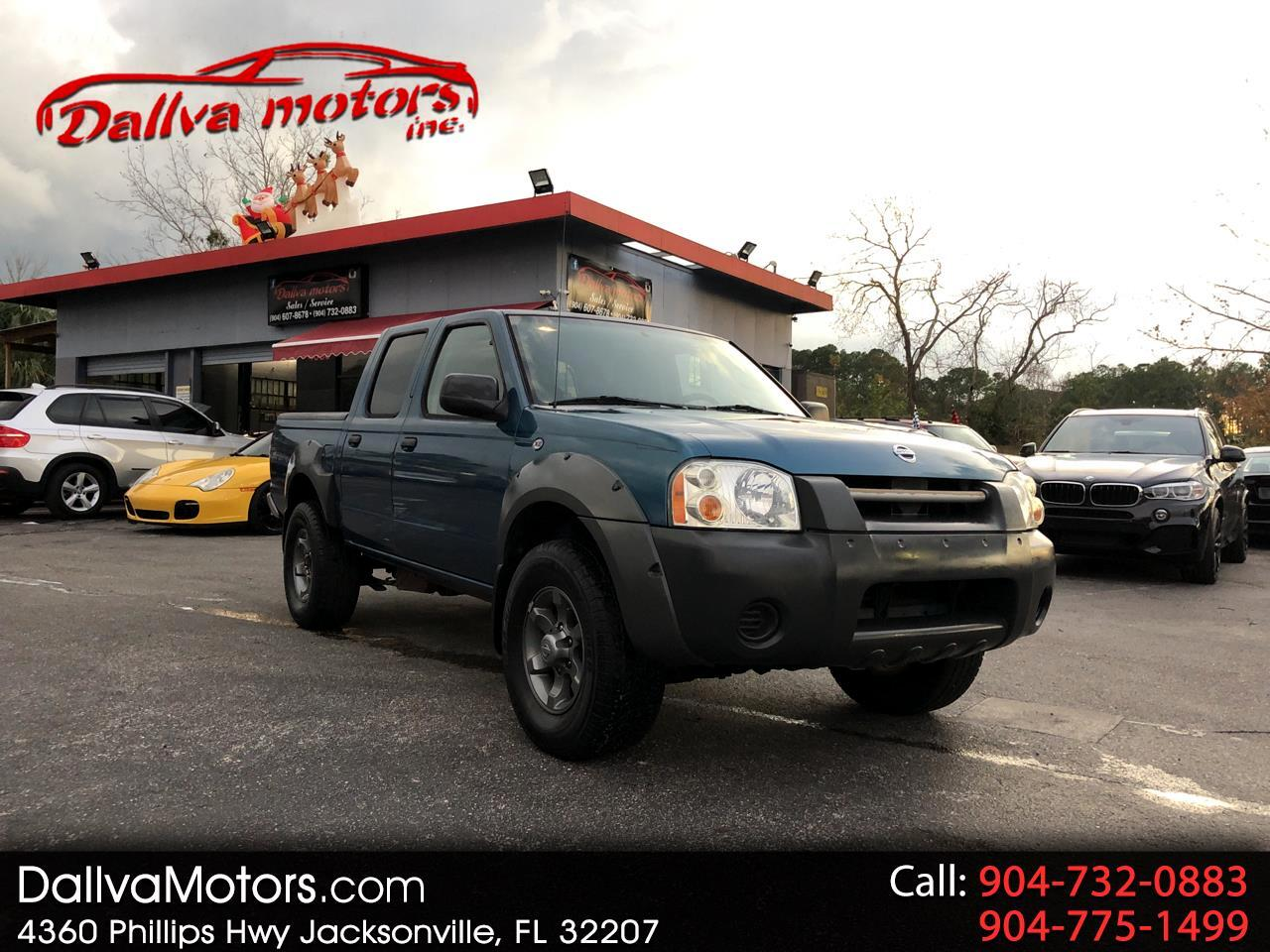 Nissan Frontier XE-V6 Crew Cab 2WD 2002