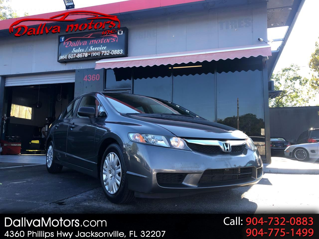 Honda Civic DX-VP Sedan 5-Speed MT 2009