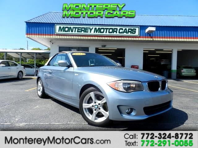 2013 BMW 1-Series 128i Convertible