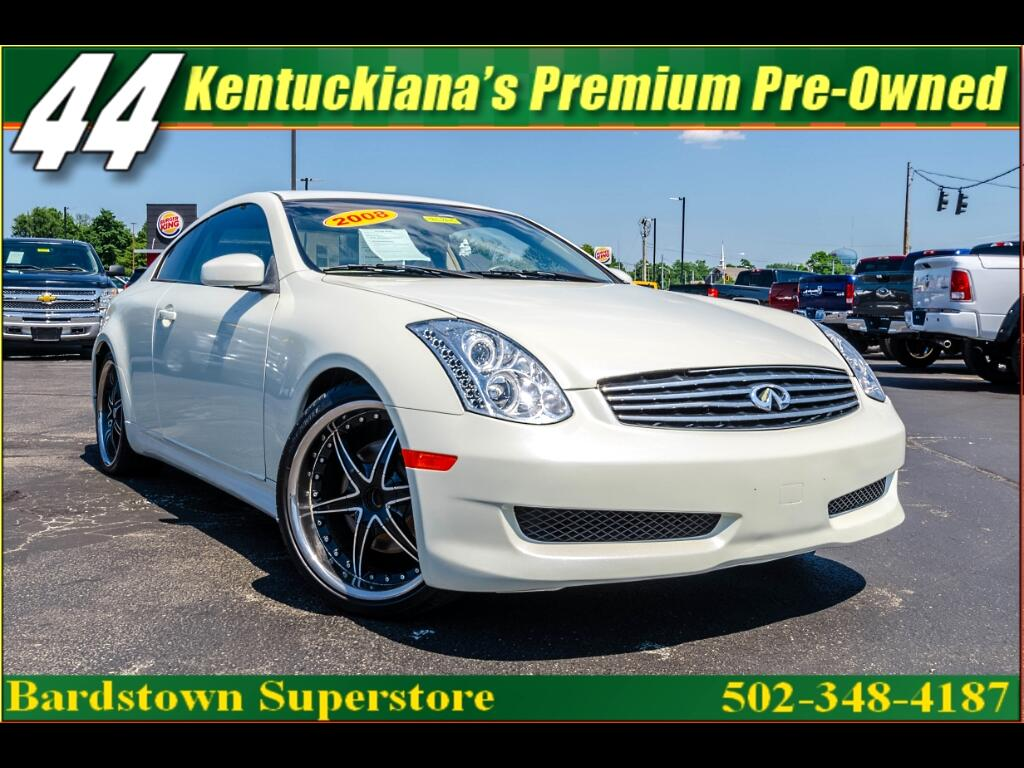 2006 Infiniti G35 Coupe with Leather