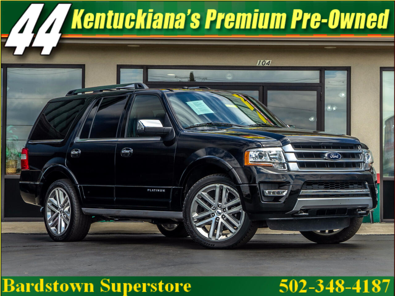 2016 Ford Expedition Platinum 4WD