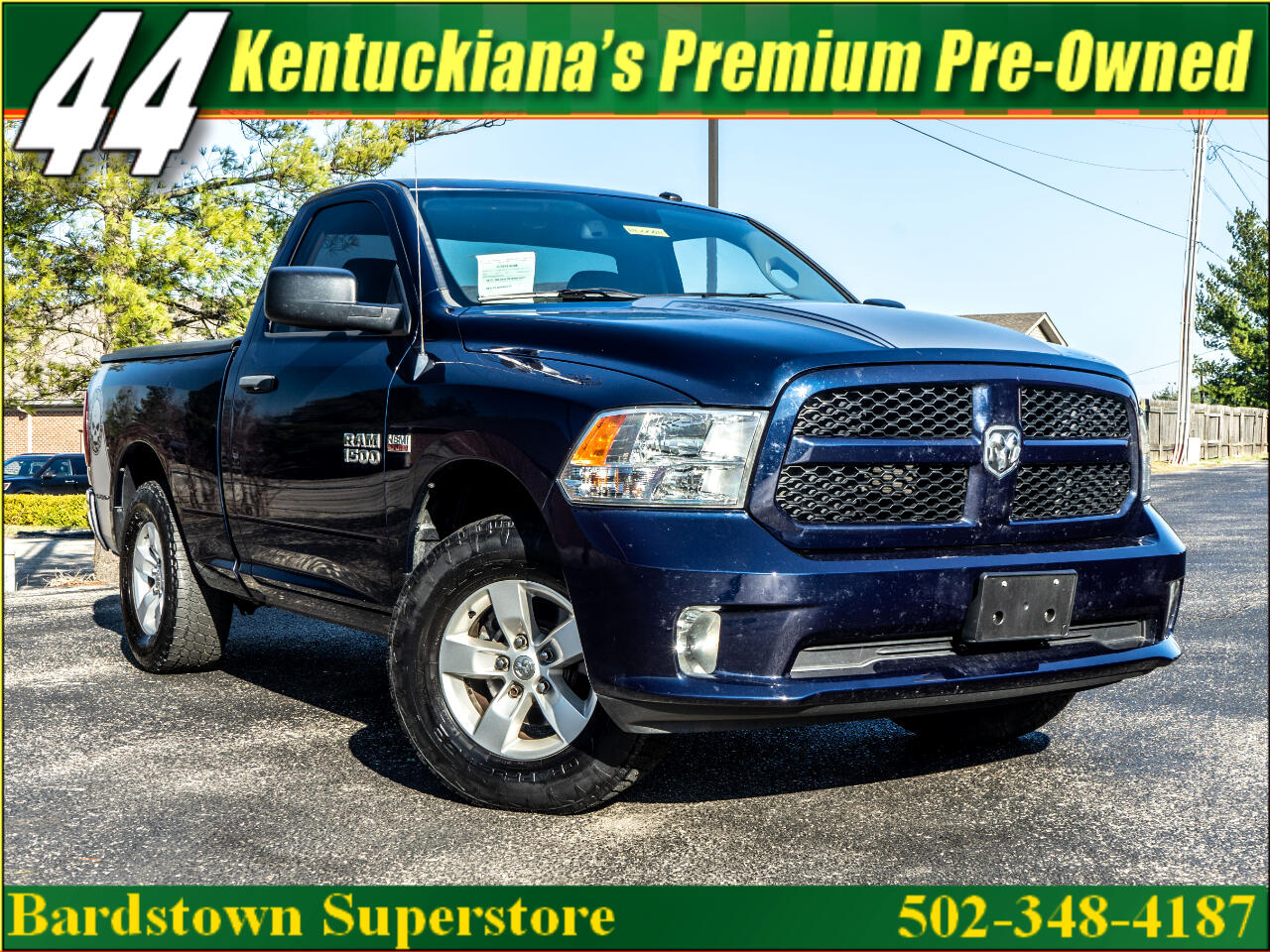 2013 RAM 1500 Tradesman Regular Cab SWB 2WD