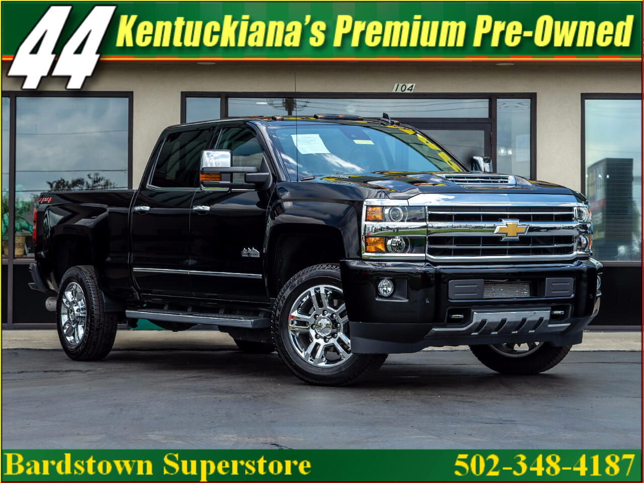 Chevrolet Silverado 2500HD High Country 4WD 2018