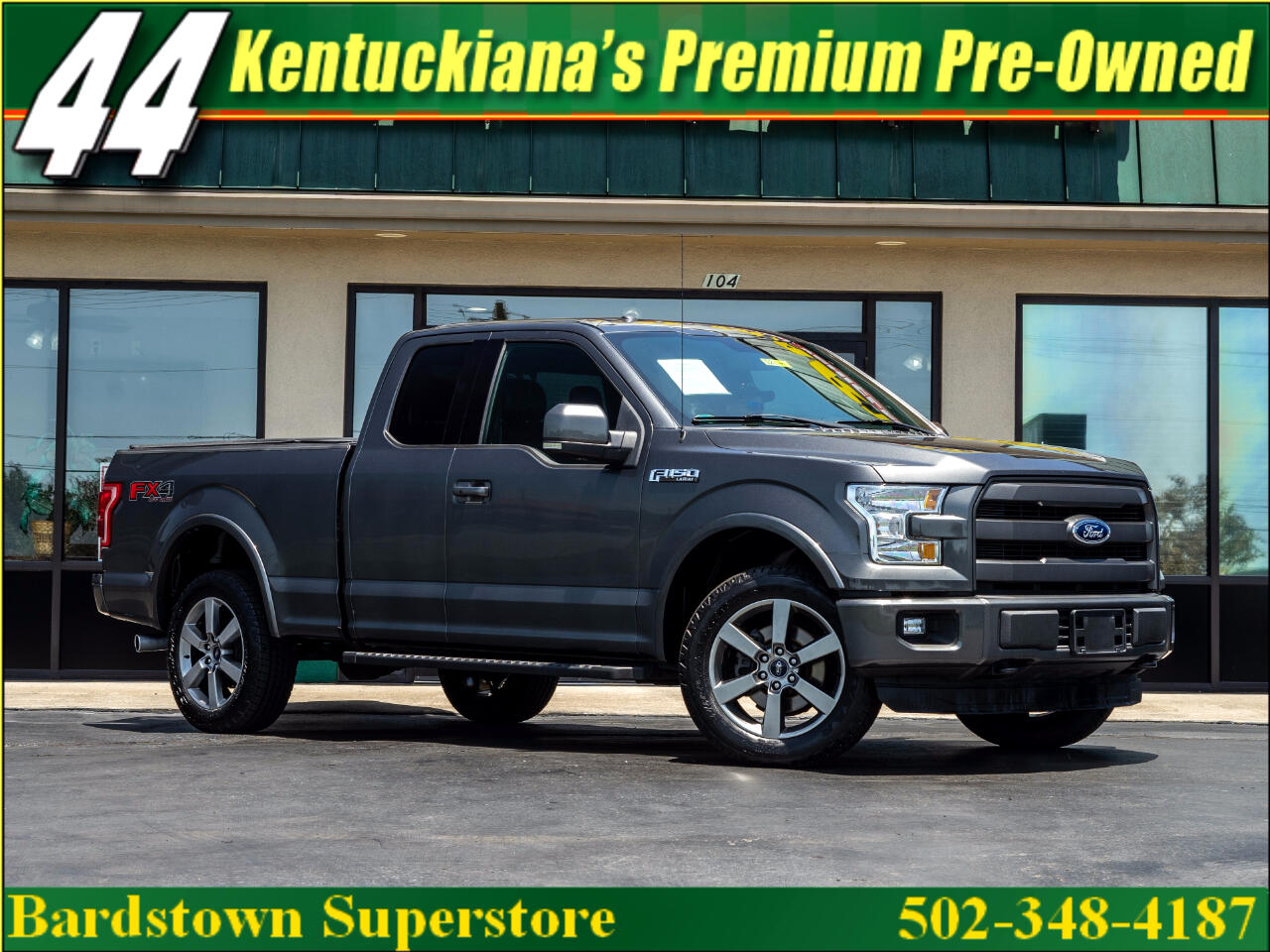 2015 Ford F-150 Lariat 4WD SuperCab 6.5' Box