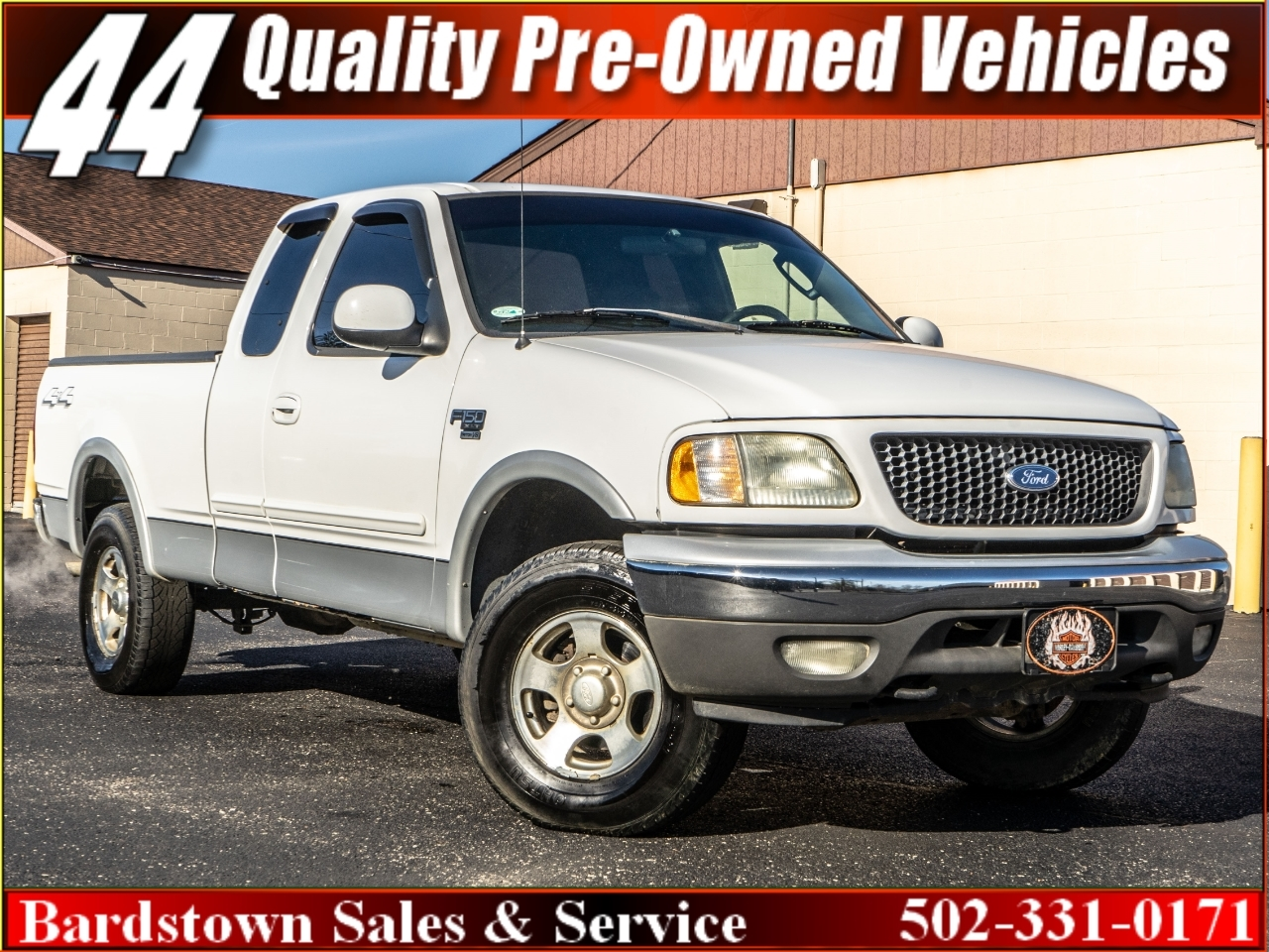 2002 Ford F-150 XL SuperCab Long Bed 4WD