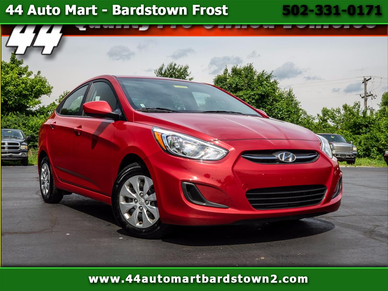 2017 Hyundai Accent SE 4-Door 6A