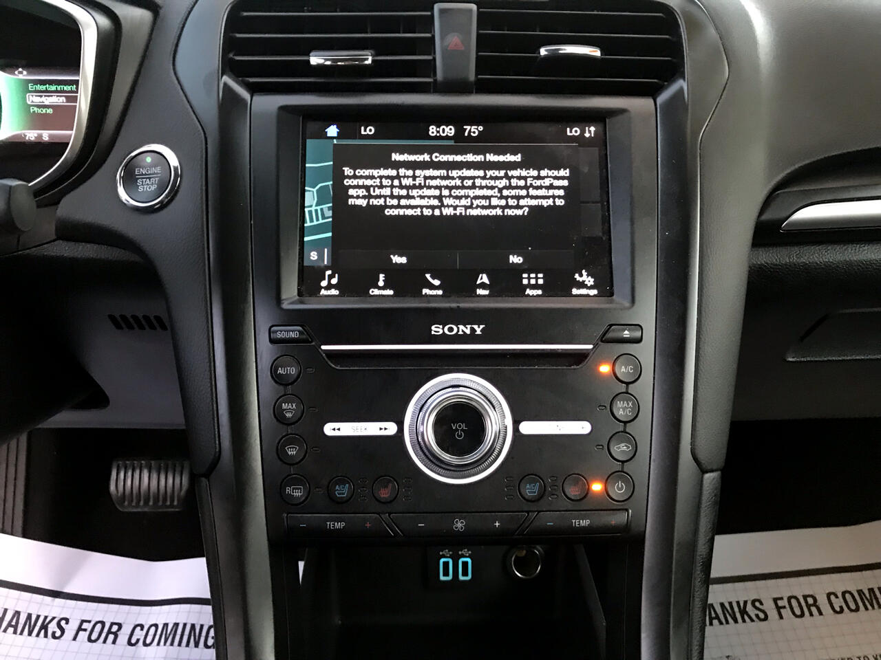 2019 Ford Fusion Titanium AWD
