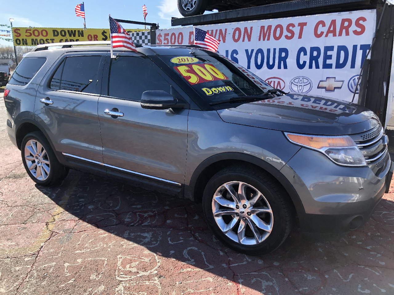 Ford Explorer Limited 4WD 2013