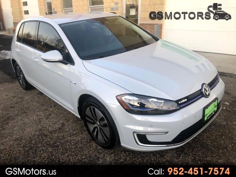 2017 Volkswagen e-Golf SEL Premium