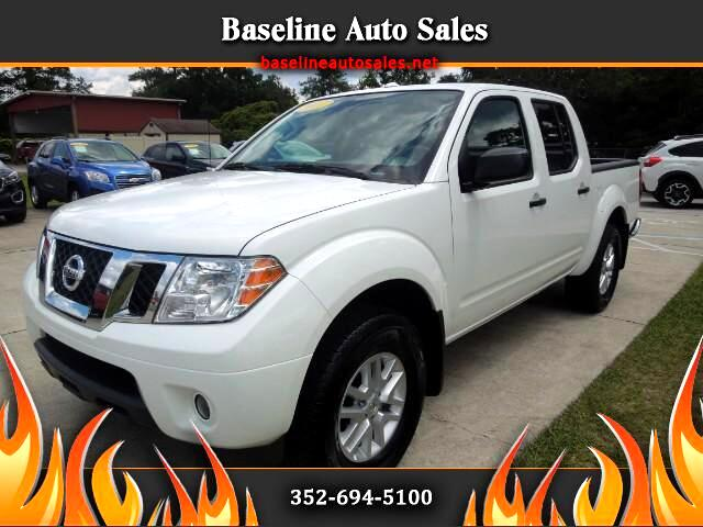 2017 Nissan Frontier Crew Cab 4WD SV Truck Value Pak