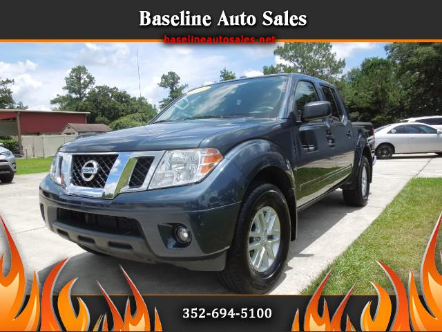 2017 Nissan Frontier SV Crew Cab 5AT 2WD Value Pack