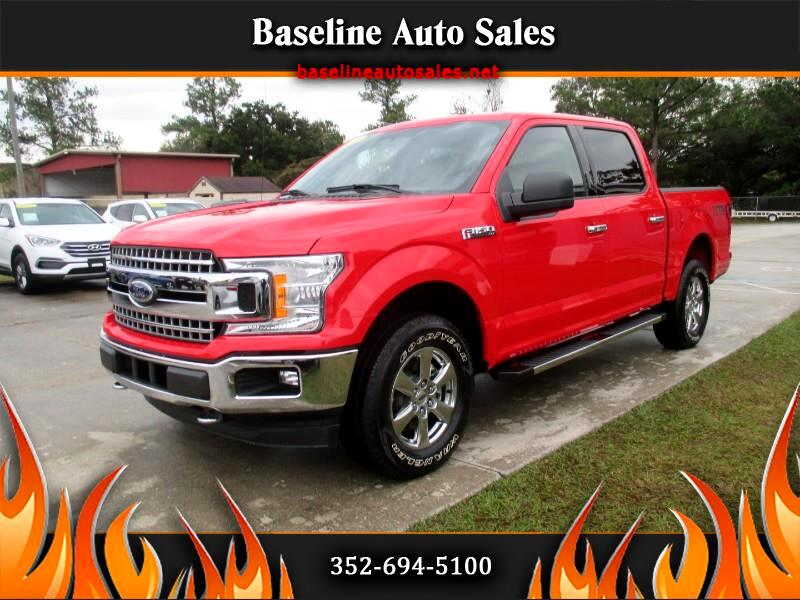 2018 Ford F-150 XTR SuperCrew 5.5-ft. Bed 4WD