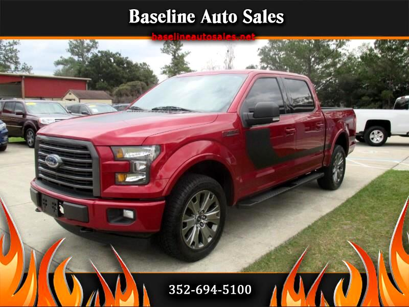 2017 Ford F-150 Sport SuperCrew 5.5-ft. Bed 4WD