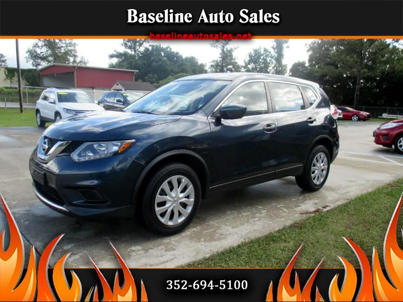 2016 Nissan Rogue S+2WD
