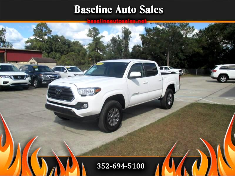 Toyota Tacoma 2WD Double Cab I4 AT SR5 (Natl) 2019