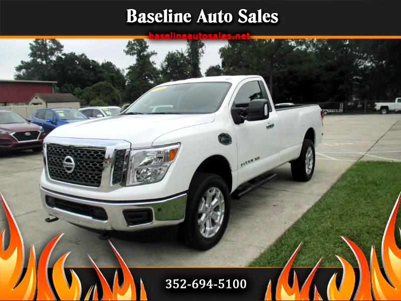 2018 Nissan Titan XD Regular Cab 4x4 Long Bed SV