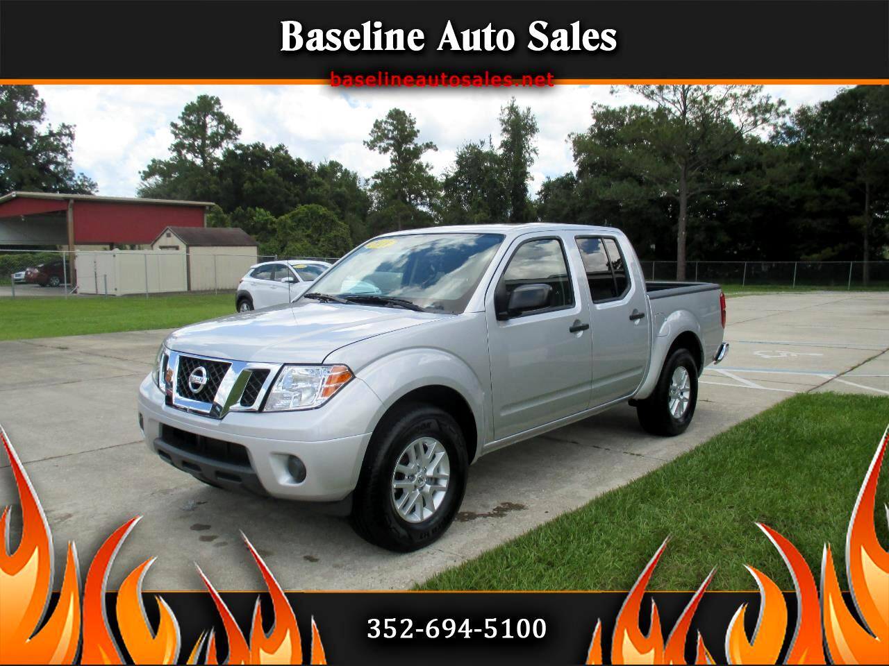 used 2019 nissan frontier sv crew for sale in ocala fl 34480 baseline auto sales baseline auto sales