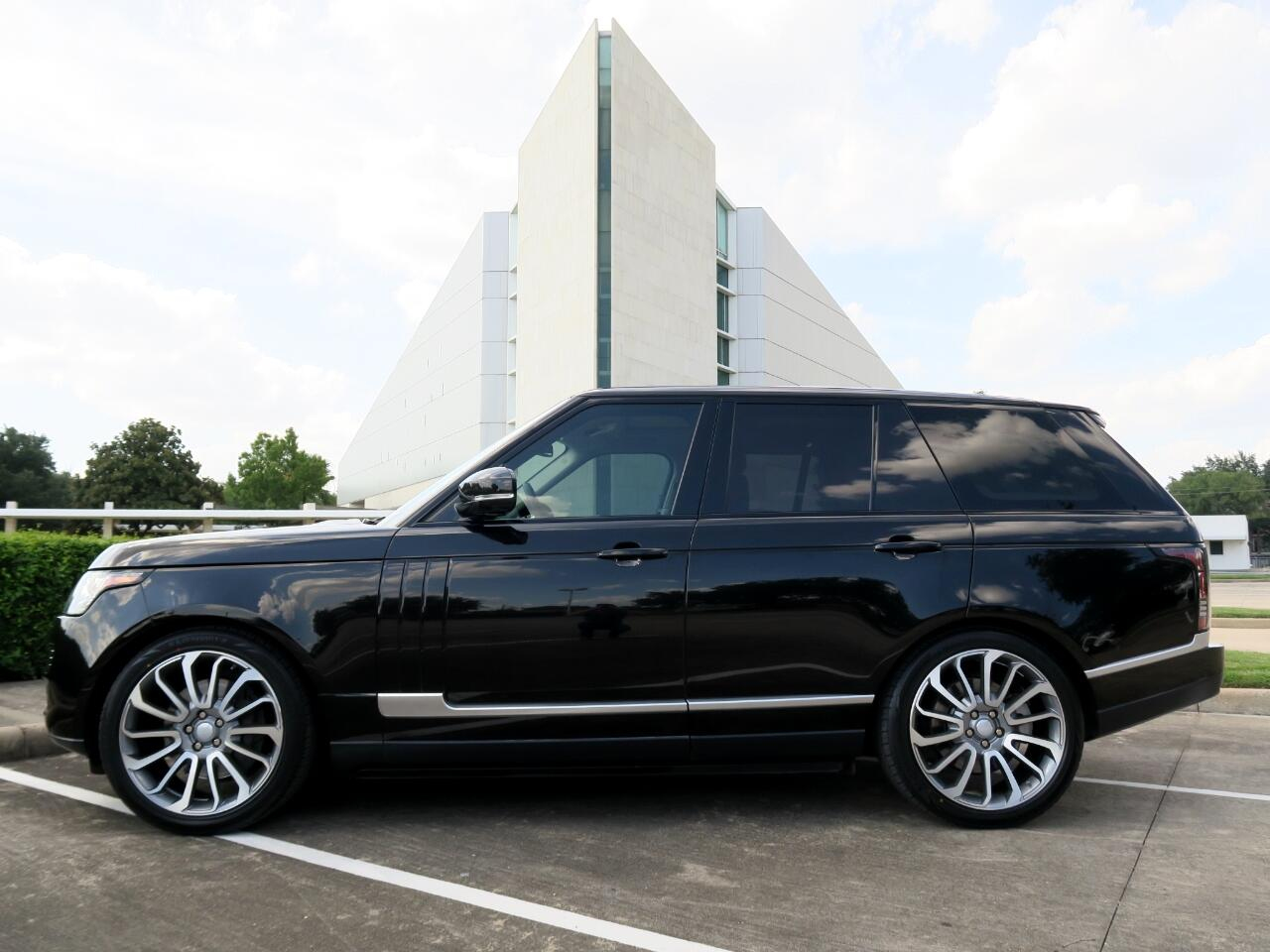 Land Rover Range Rover 4WD 4dr HSE 2013