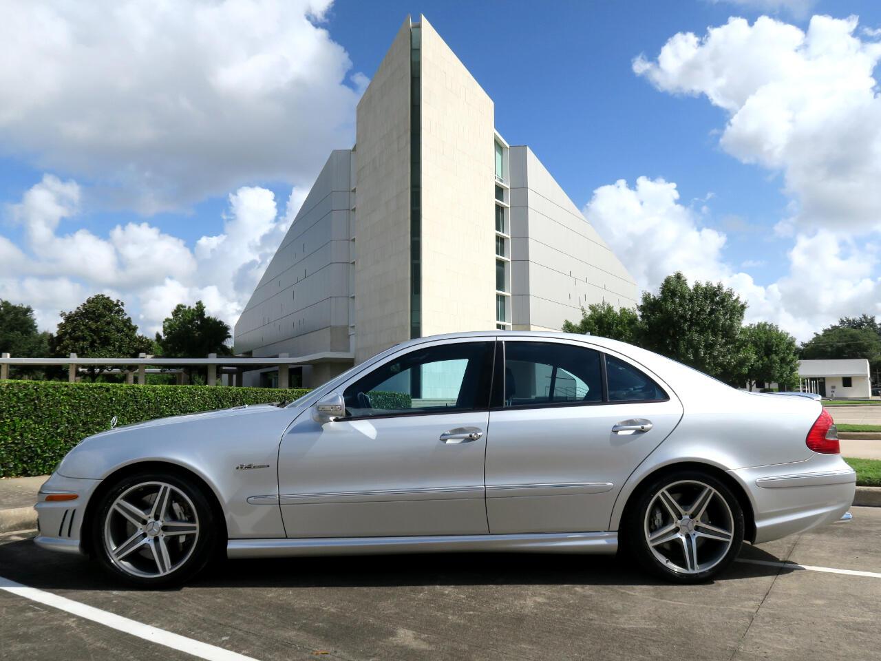 Mercedes-Benz E-Class 4dr Sdn 6.3L AMG RWD 2008