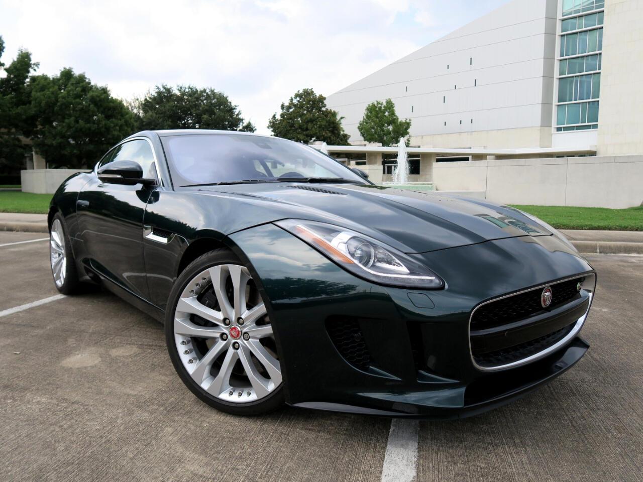 2017 Jaguar F-Type Coupe Manual S