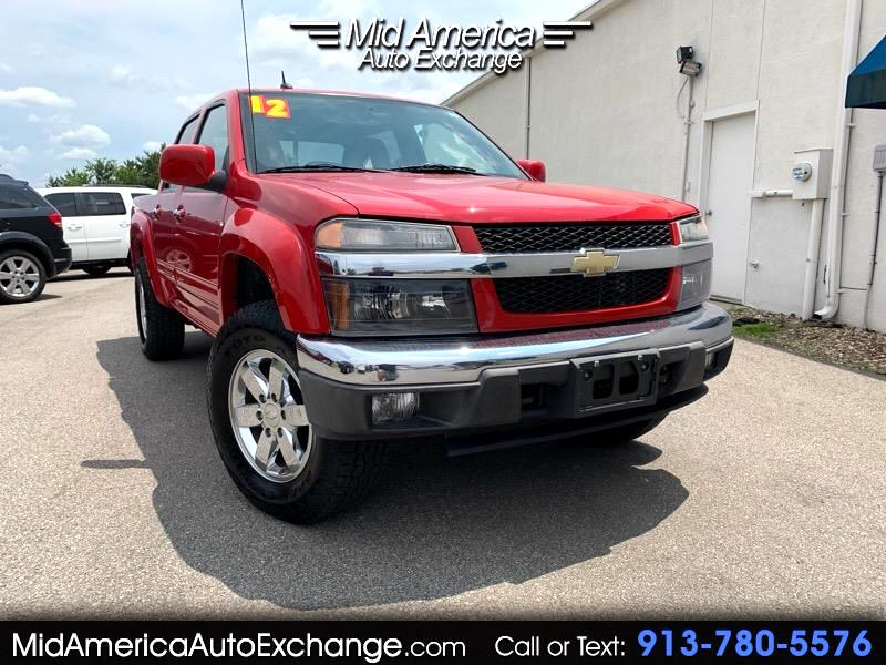 2012 Chevrolet Colorado 2LT Crew Cab 4WD