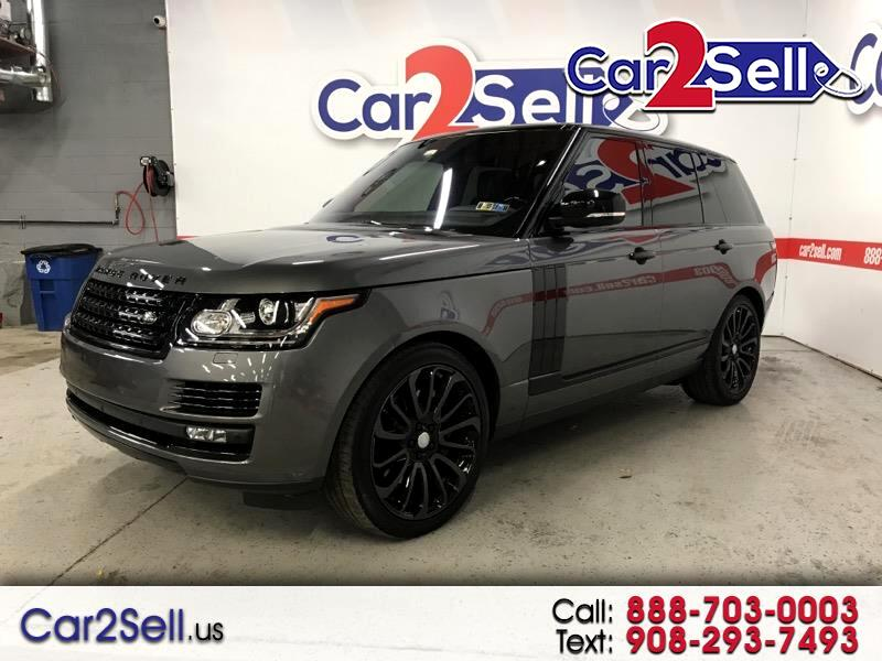 2016 Land Rover Range Rover 4WD 4dr Supercharged Ebony Edition