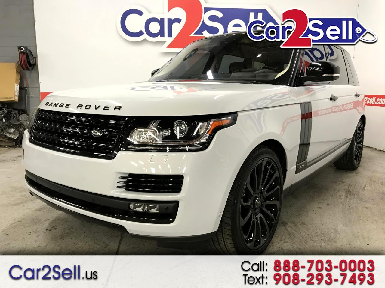 2017 Land Rover Range Rover 4WD 4dr Supercharged Autobiography LWB