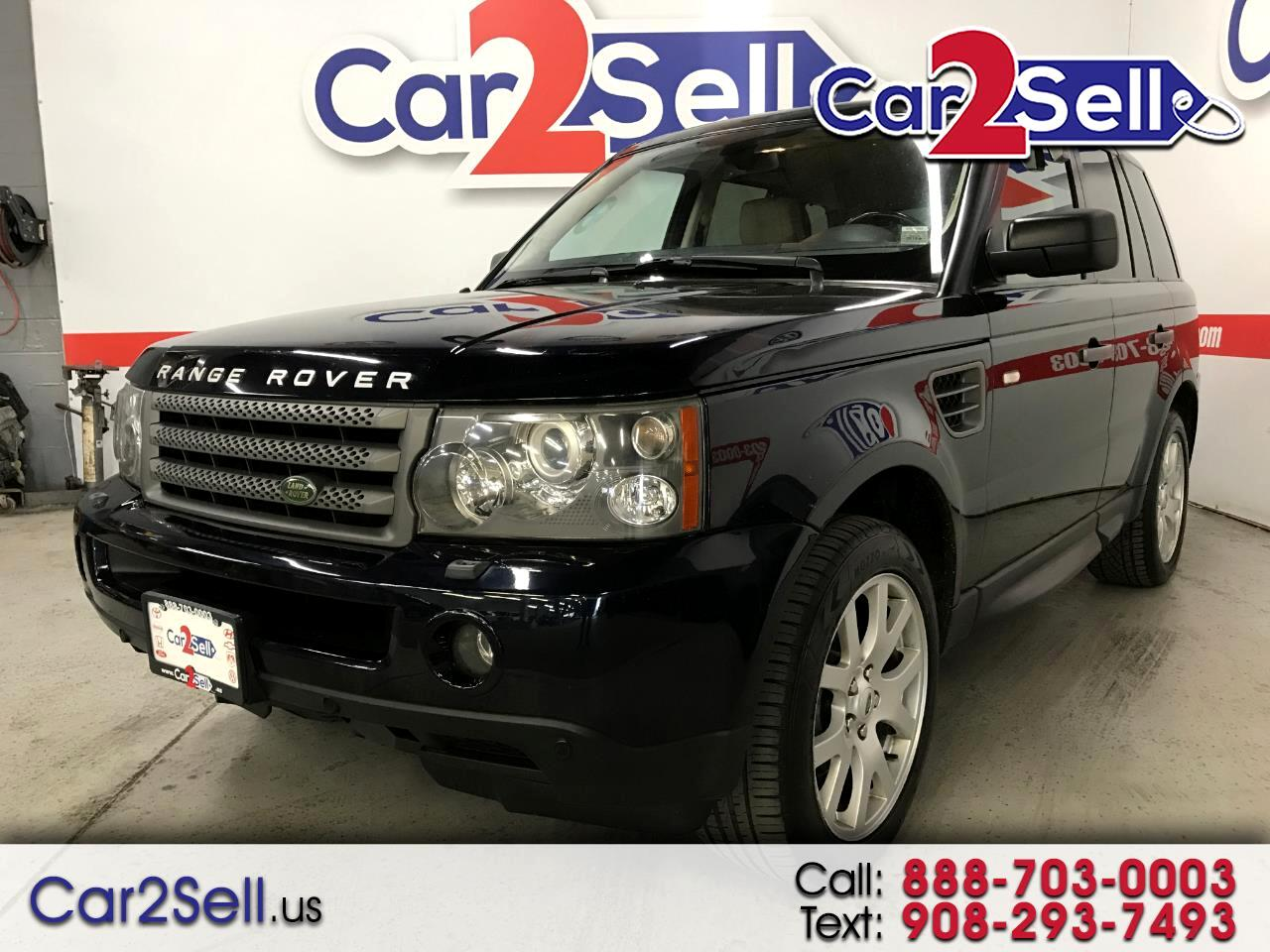 2009 Land Rover Range Rover Sport 4WD 4dr HSE