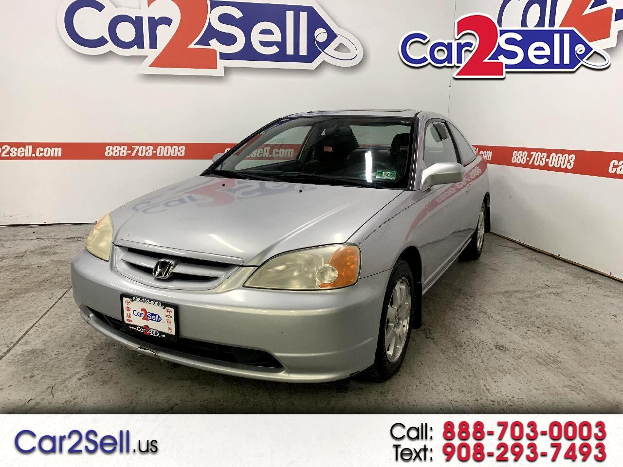2003 Honda Civic 2dr Cpe EX Auto