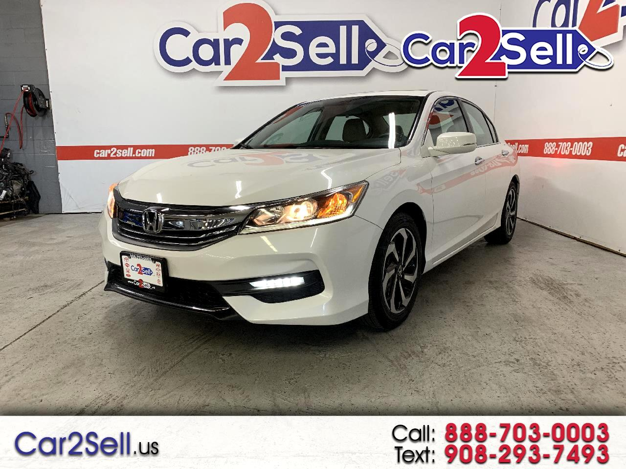 Honda Accord Sedan 4dr I4 CVT EX 2016