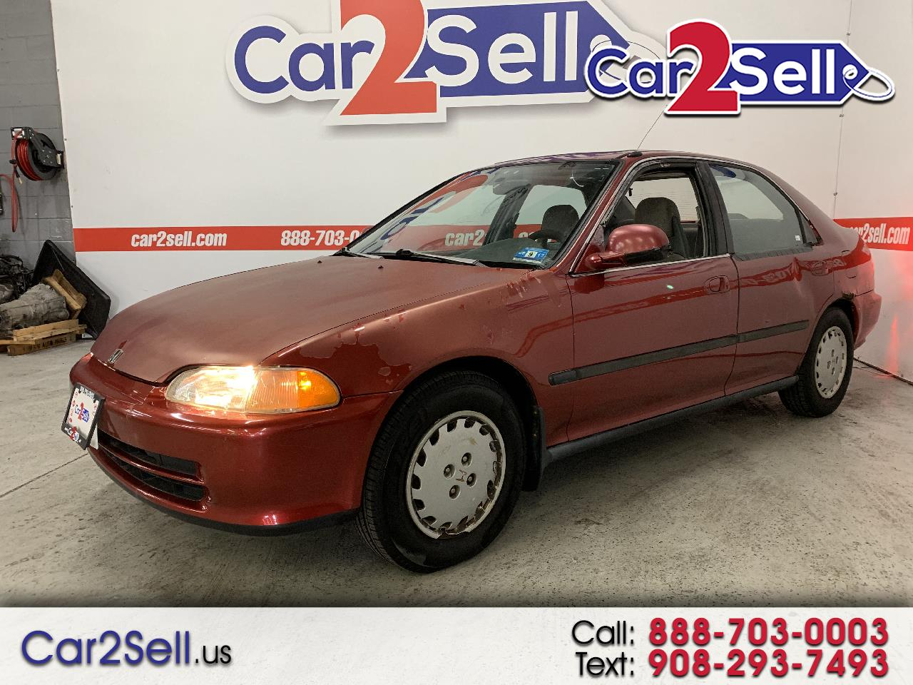 1993 Honda Civic 4dr Sedan 1.6L EX Auto