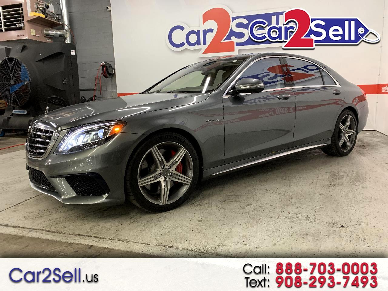 Mercedes-Benz S-Class 4dr Sdn AMG S 63 4MATIC 2016