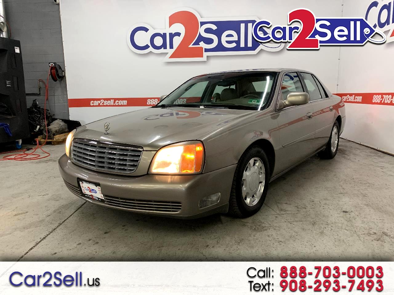 Cadillac DeVille 4dr Sdn 2000