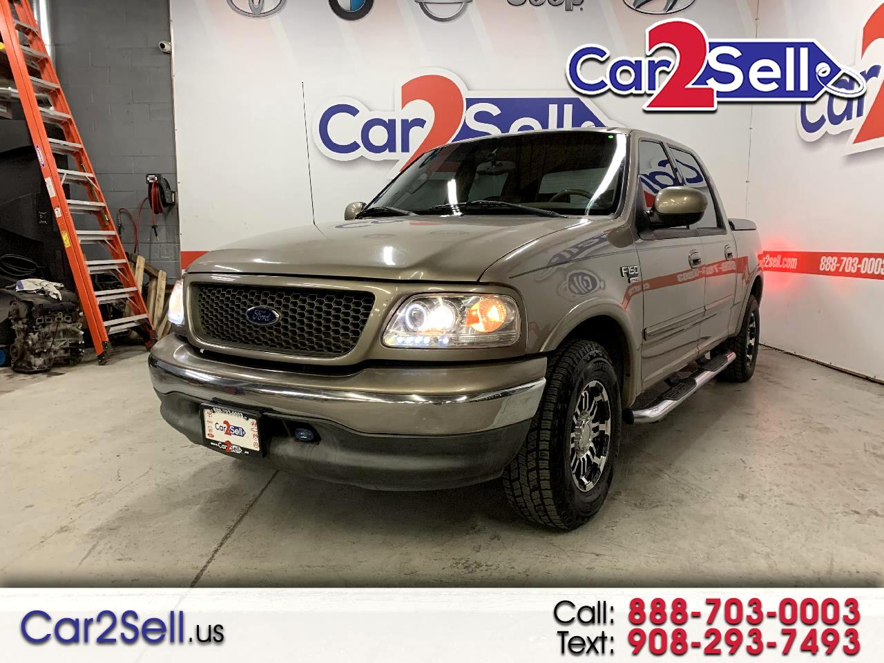 """Ford F-150 SuperCrew 139"""" King Ranch 2003"""