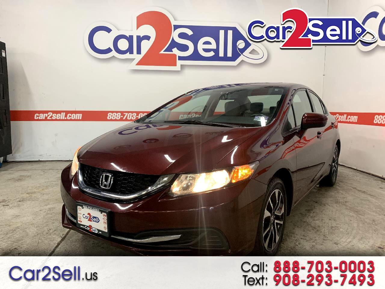 Used Honda Civic Sedan Hillside Nj