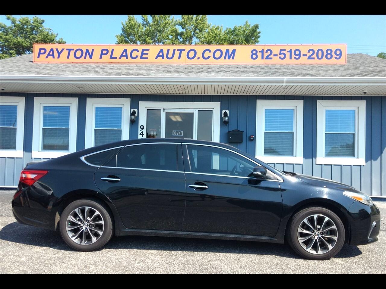 Toyota Avalon XLE 2016
