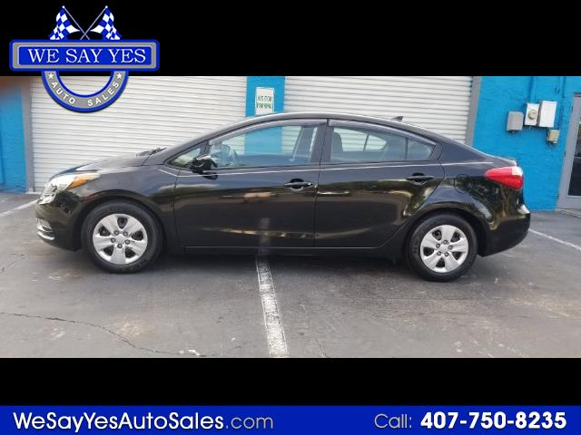 2016 Kia Forte LX w/Popular Package