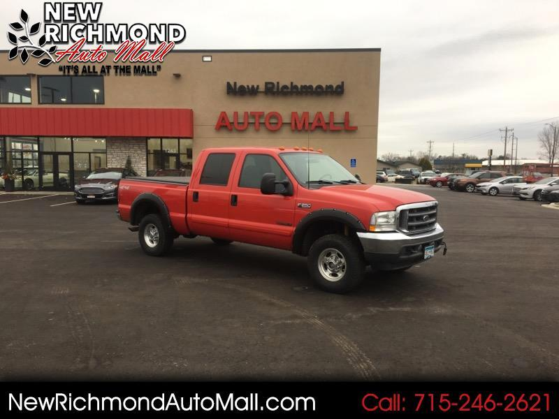 2002 Ford F-250 SD Crew Cab 4WD