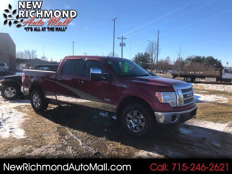 "2011 Ford F-150 SuperCrew 150"" Lariat 4WD"
