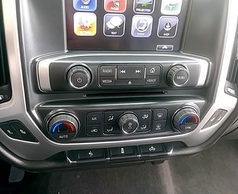 2017 GMC Sierra 1500 SLT Crew Cab Long Box 4WD