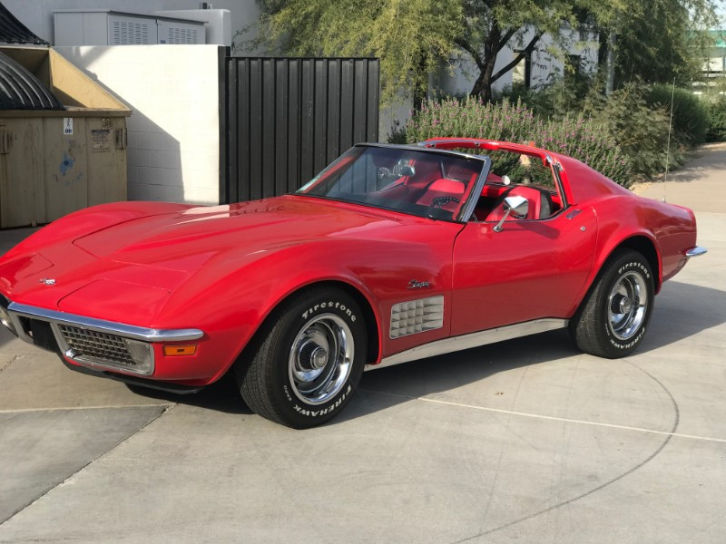 1971 Chevrolet Corvette Sting Ray  T-Top